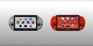 Sony Reveals Silver and Metallic Red PS Vita Models for Japan