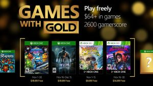 November 2016 Games with Gold Include Super Dungeon Bros., More