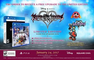 Kingdom Hearts HD 2.8 Gets a Free Limited Edition