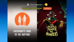 November 2016 PlayStation Plus Games Include The Deadly Tower of Monsters, More