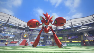 Scizor Joins the Fight in Pokken Tournament