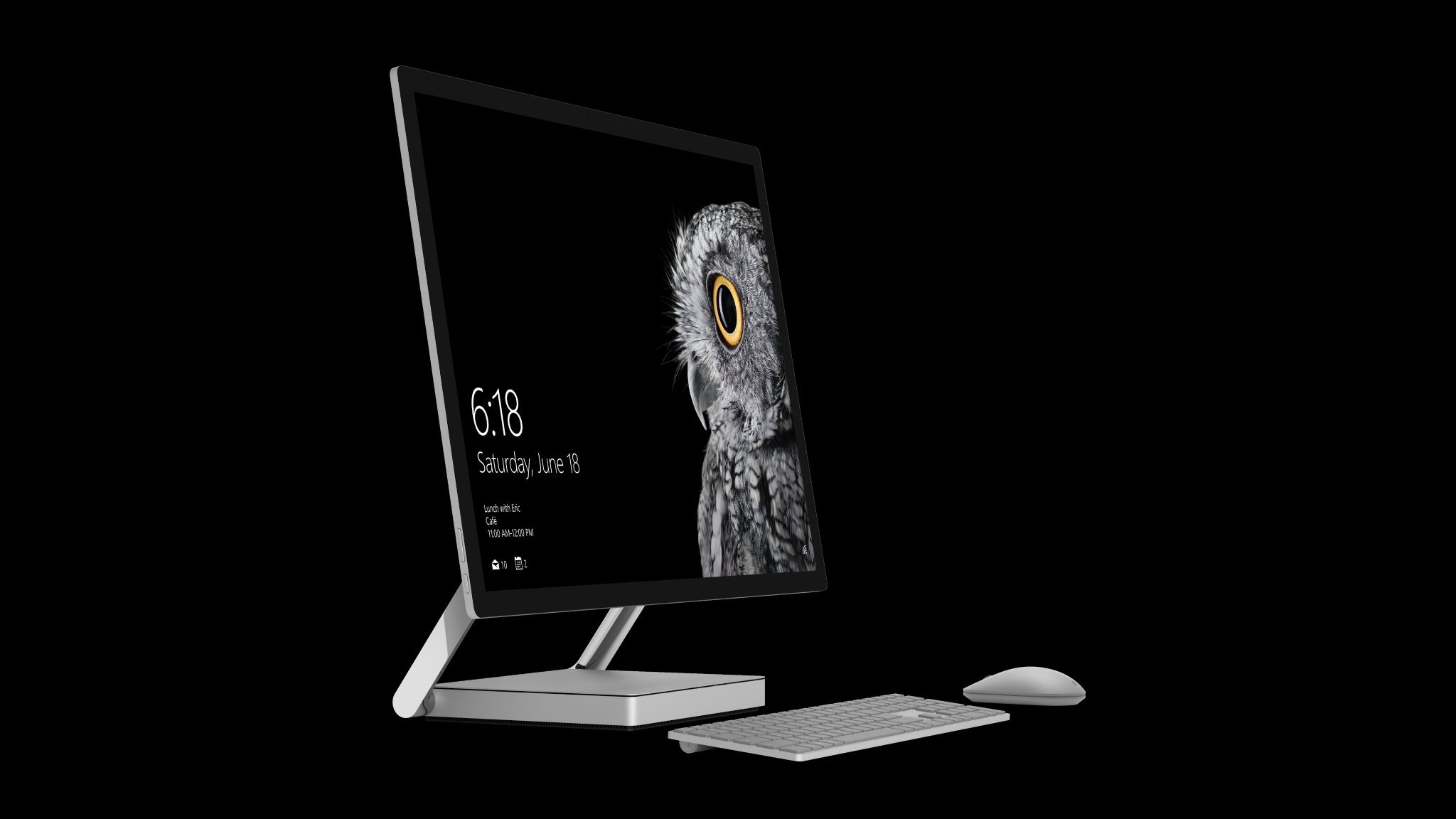 Microsoft Reveals Surface Studio Desktop Niche Gamer