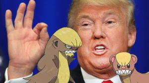 Pokemon Sun and Moon Producer Denies New Pokemon Being Inspired by Donald Trump