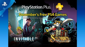 December 2016 PlayStation Plus Includes Stories: The Path of Destinies, Invisible Inc., More