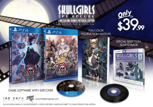 Limited Retail Edition Coming for Skullgirls 2nd Encore