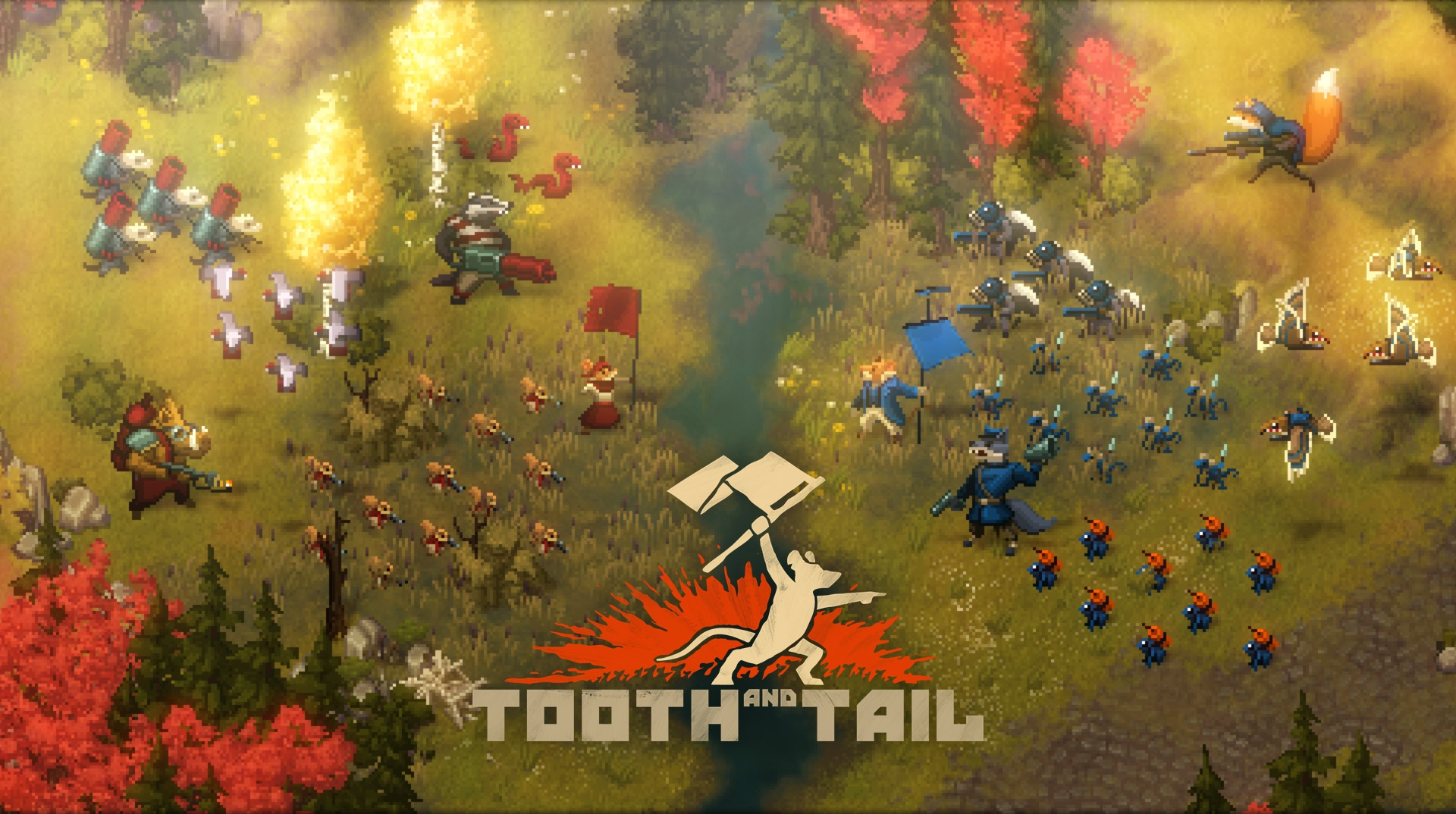 4 Games That Comes With Ps4 : Tooth and tail the furry rts set to revolutionary