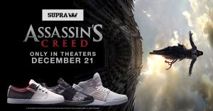 Ubisoft Collabs with SUPRA on Assassin's Creed Shoes, Because Reasons