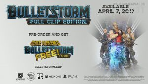 Bulletstorm: Full Clip Edition Revealed for PC, PS4, and Xbox One