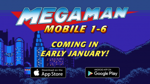 Mega Man Mobile Collection Gets Western Release in January