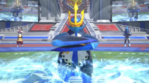 See Empoleon's Moves in Pokken Tournament