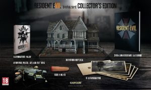 UK Fans Get a Slightly Different Resident Evil 7 Collector's Edition
