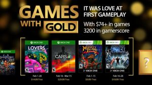 February 2017 Games With Gold Include Project Cars, Monkey Island 2, More