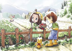 Harvest Moon: Save the Homeland and Harvest Moon: A Wonderful Life Special Edition Rated for PS4