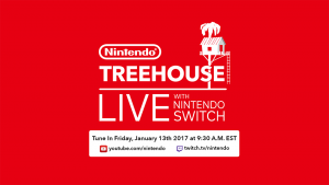 Nintendo Treehouse to Host Nintendo Switch Live Stream on January 13