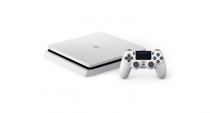 Glacier White PlayStation 4 Slim Announced for Japan, Europe, and Asia