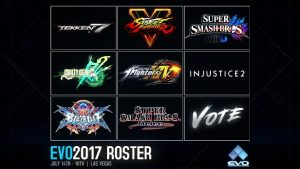 EVO Announces The Lineup for EVO 2017