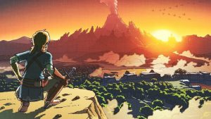 New Art for The Legend of Zelda: Breath of the Wild Channels Original Game
