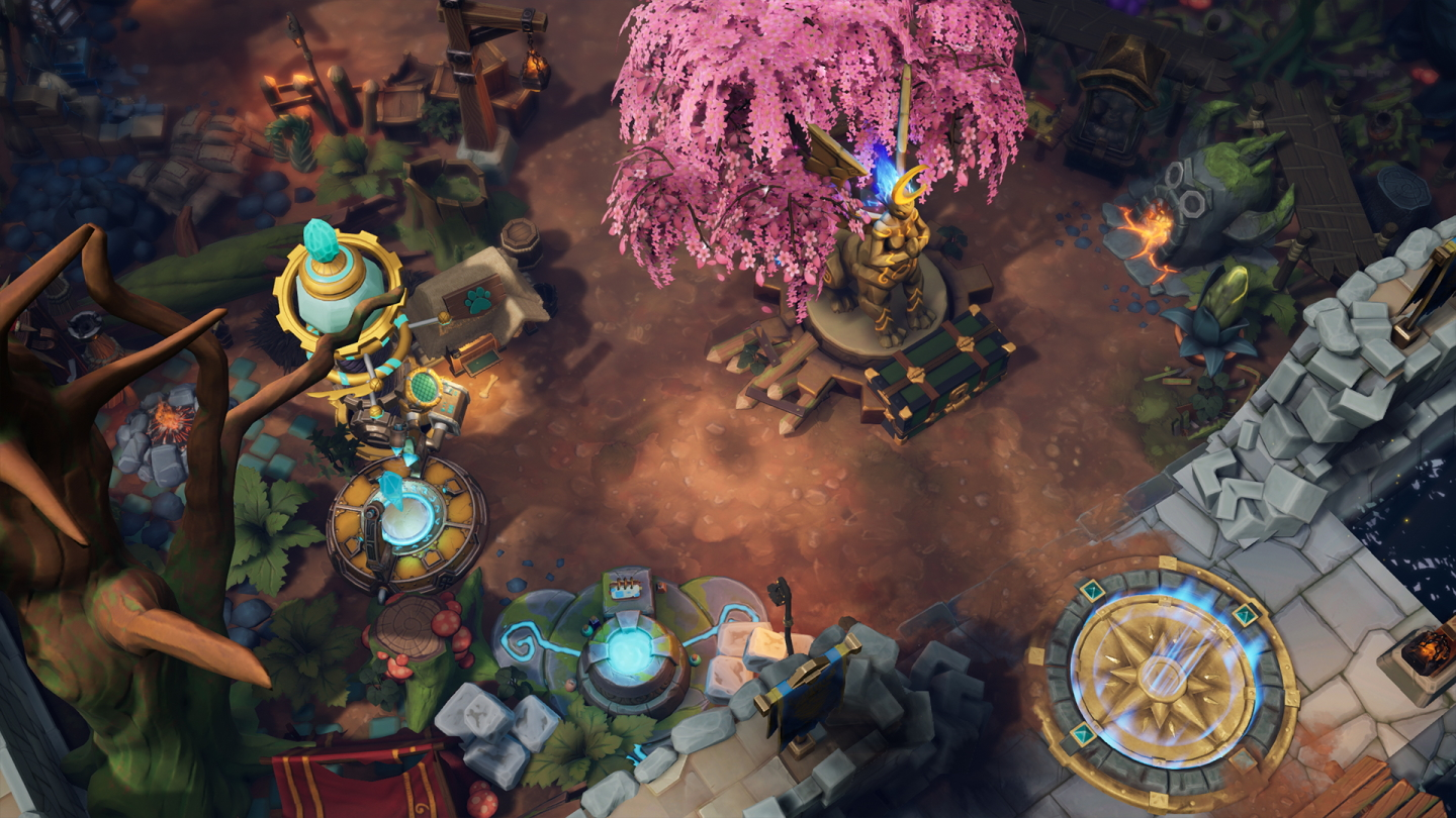 Torchlight III Customizable Forts Detailed