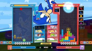 Puyo Puyo Tetris 2 Heads to PC March 23, Sonic the Hedgehog and Online Co-Op Boss Raid Mode Available Now