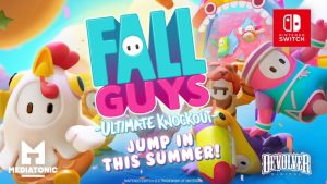 Fall Guys: Ultimate Knockout Heads to Nintendo Switch Summer 2021