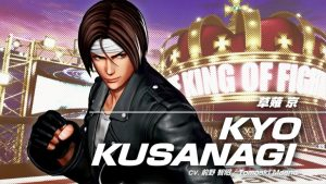 The King of Fighters XV Kyo Kusanagi Gameplay Teaser