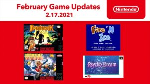 Nintendo Switch Online Adds New NES and SNES Games on February 17; Psycho Dream, Doomsday Warrior, and More