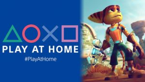 PlayStation Play At Home Returns with Free Ratchet & Clank, Three Month Trial of Funimation