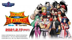 SNK vs. Capcom: The Match of the Millennium Gets a Switch Port on February 17