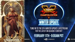Street Fighter V Champion Edition Winter Update Livestream to Reveal Info on Dan Hibiki, Rose, and More