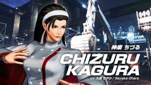 The King of Fighters XV Chizuru Kagura Gameplay Teaser