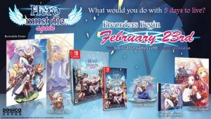 Hero must die. againPhysical and Collector's Editions Available Now on PS4 and Switch