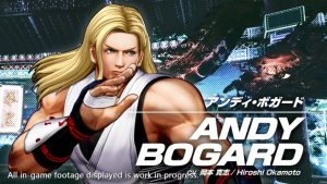 The King of Fighters XV Andy Bogard Gameplay Trailer