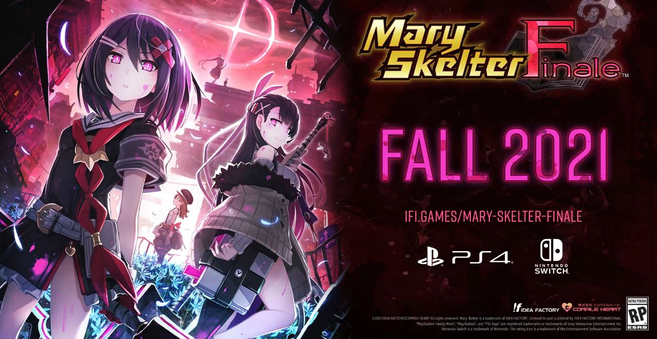 Mary Skelter Finale Heads West