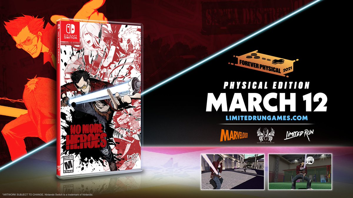no more heroes i and ii physical release