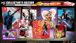 No More Heroes 1 and 2 Limited Run Physical Editions Announced for Switch