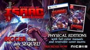 The Binding of Isaac: Repentance Launches for Switch, PS4, and PS5 in Q3 2021